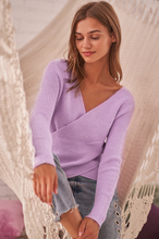 Load image into Gallery viewer, Britt Wrap Sweater