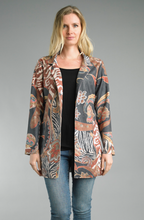 Load image into Gallery viewer, Vintage Print Blazer