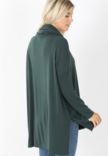 Load image into Gallery viewer, Lacy Cowl Neck Top
