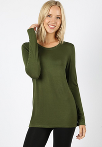 Sarah Long Sleeve Basic