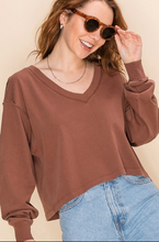 Load image into Gallery viewer, Becca Crop Pullover