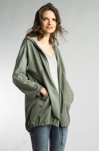 Lazy Day hooded cardigan