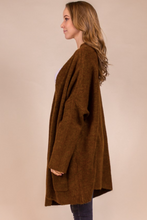 Load image into Gallery viewer, Oversized Cinnamon Cardigan