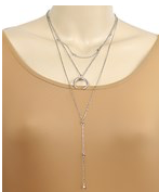 Cresent Double Necklace