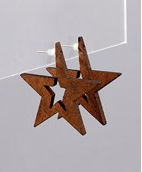 Load image into Gallery viewer, Wood Carved stars
