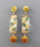 Load image into Gallery viewer, Isabelle the wildflower earrings