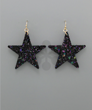 Load image into Gallery viewer, Shooting Star Glam Earrings
