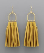The Mustard Tassel Khloe