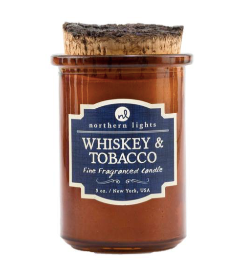 Whiskey and Tobacco Candle