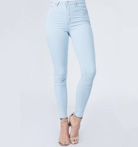 Aaliyah Basic High Waist Skinny