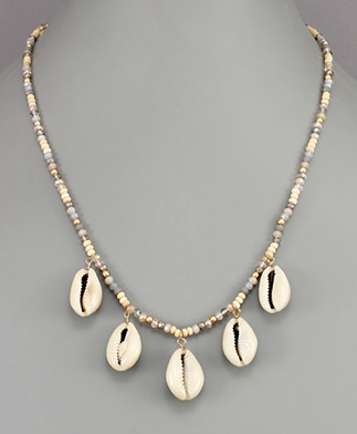 Beach Pearl Necklace