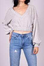 Load image into Gallery viewer, CHENILLE KNIT CROPPED TOP