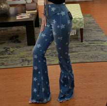 Load image into Gallery viewer, Rock Star Flare Jeans