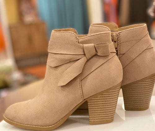 Arden Taupe Booties