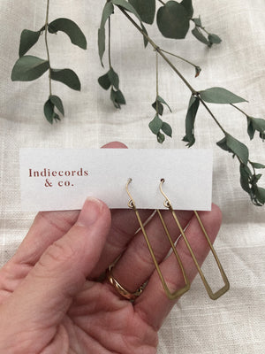 Elle Earrings - Indiecords.co - Clay Polymer Earrings