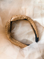 Rattan Twist Headband - Indiecords.co - Clay Polymer Earrings