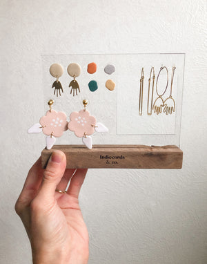 Indiecords Earring Display (small) - Indiecords.co - Clay Polymer Earrings