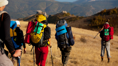 Trekking tips and advice for a large group of people