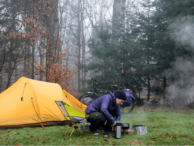 Useful tips for first-time solo campers