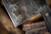 Hand-Forged Professional Chef's Cleaver