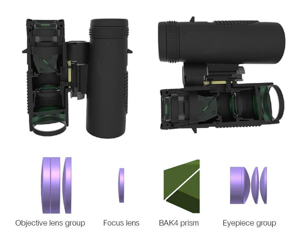 10X42 SV47 High-Powered Binoculars