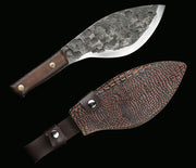 Hand-Forged Outdoor Butcher Knife