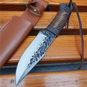 Doom Blade Key D High-Carbon Steel Outdoor Knife