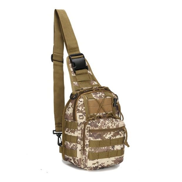 Military Tactical Outdoor Shoulder Backpack