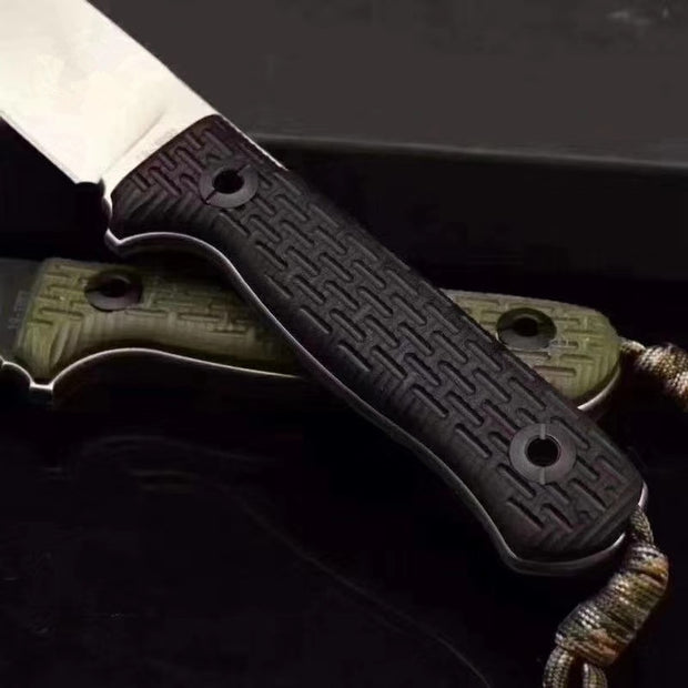 Niolox Steel Bushcraft Knife