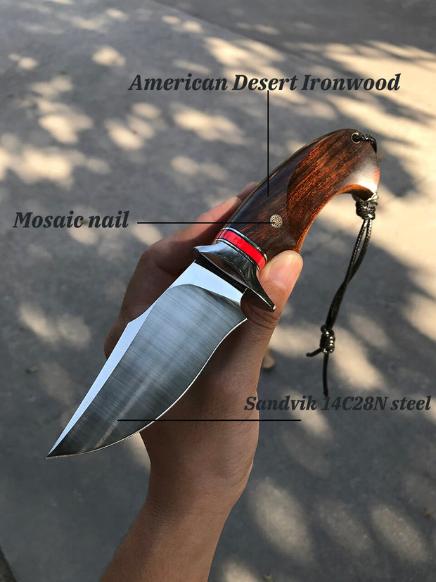 Trail Finder Fixed Blade Knife