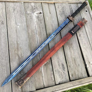 Two-Handed Jian Battle Sword