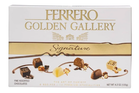 Chocolate Ferrero Golden Gallery de 120 g