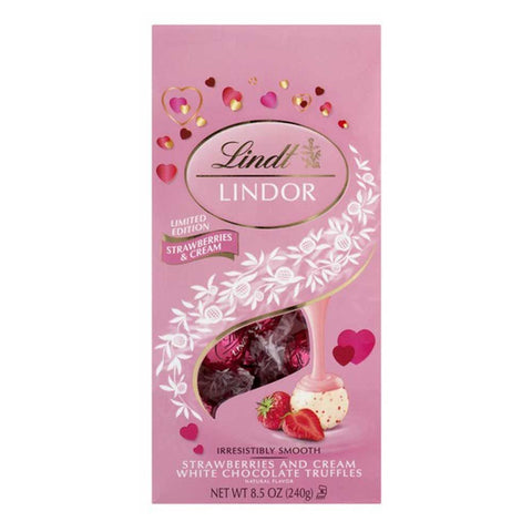 Chocolate Lindt Lindor Strawberries & Cream
