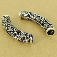 1 PCS 925 Stamp Sterling Silver Lucky Charm Buddhism Vintage WSP487 Wholesale: See Discount Coupons in Item Details