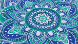 10% Off until May 31st/Coupon Code : FABMAY/Lotus Round Throw/Dining Table cover/Wall Tapestry/Boho Beach Throw /Hippie Throw