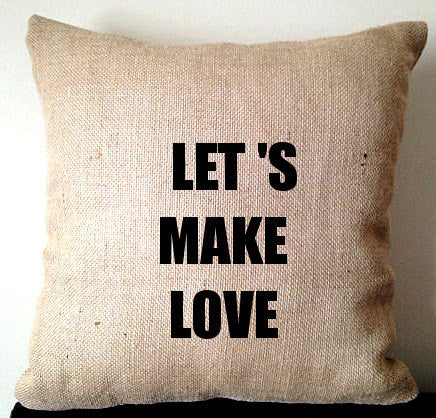 20% OFF Sale Valentine gift ideas for couples, Couples gift, Home Decor, Burlap Pillow covers, Home Pillows, Rustic Decor, Love Pillows