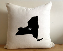 State Pillows, State Pillow, Home Decor, House Warming Gift, House Warming Pillow, Custom State Pillow