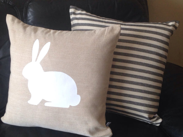 20% Easter Pillows, Home Decor, Easter Decorative Pillow Covers, Rabbit pillows, Rabbit Pillows,
