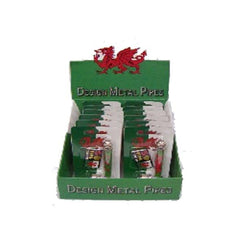 Wales Flag Metal Pipe Set - HX255W