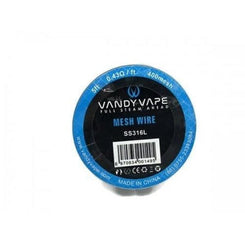 Vandy Vape Mesh Wire SS316L 0.43 Ohm-ft