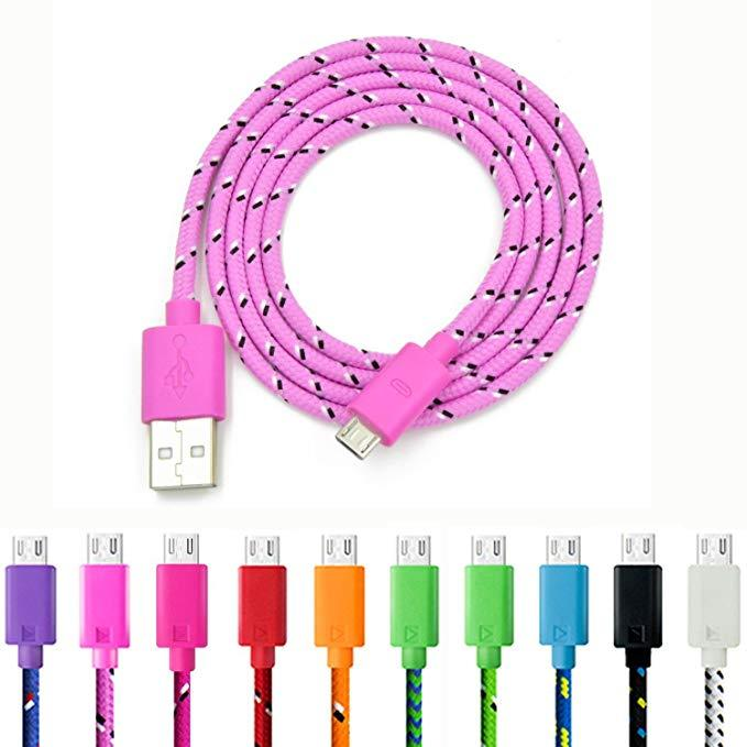 1m Braided Android Phone Charger Cable