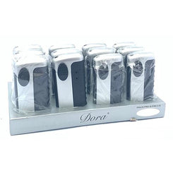 12 x Dora Metal Laser Lighter - 6091