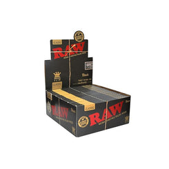 Raw Classic King Size Slim Black Rolling Papers