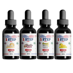 1 Step CBD 1000mg CBD Flavoured Oil 30ml