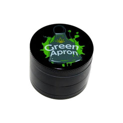 Green Apron Aluminium 4 Part Grinder 50mm