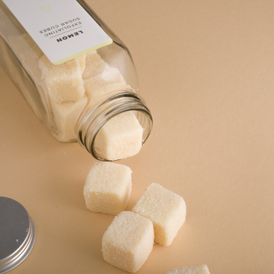 Lemon Exfoliating Sugar Cubes