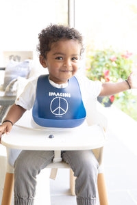 Imagine Peace Wonder Bib