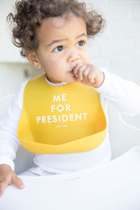 Me For President Wonder Bib