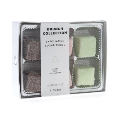 Brunch Collection Gift Box Exfoliating Sugar Cubes