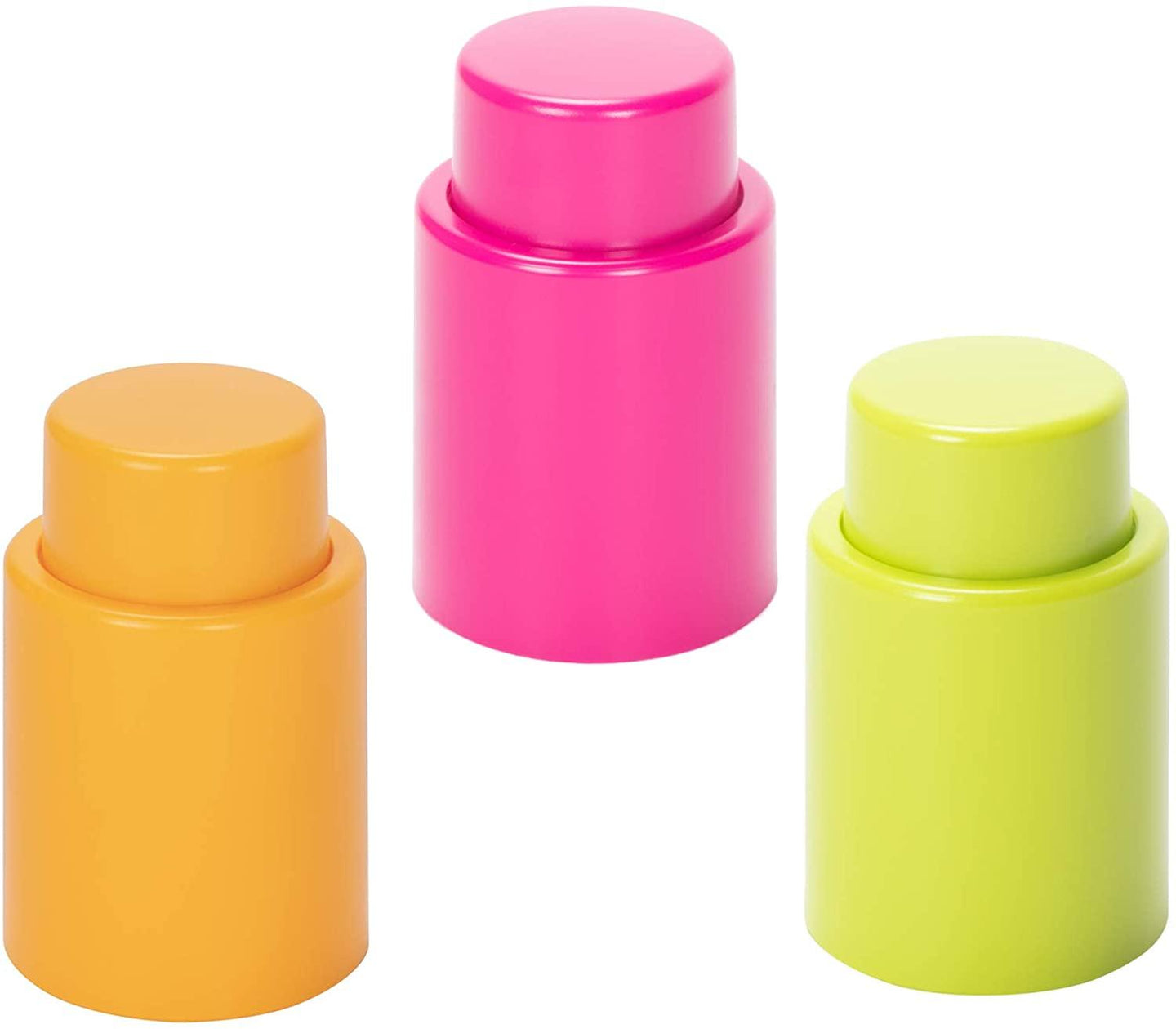Vacuum Wine Stopper - Assorted Colors